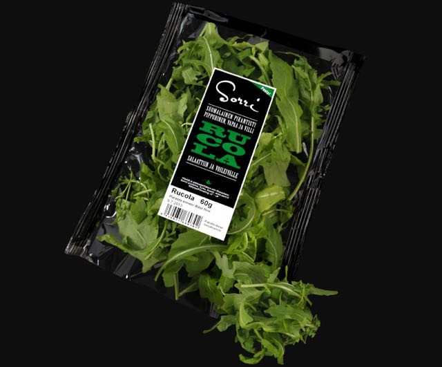 Salaatti nro 50 – Rucola-berry-salaatti