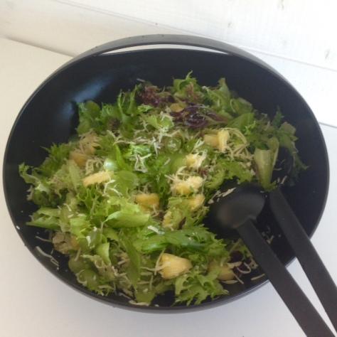 Svetlanan salaatti ilman majoa