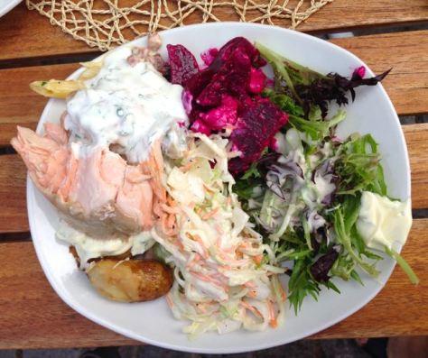 Puutarhurin rouvan salaatti