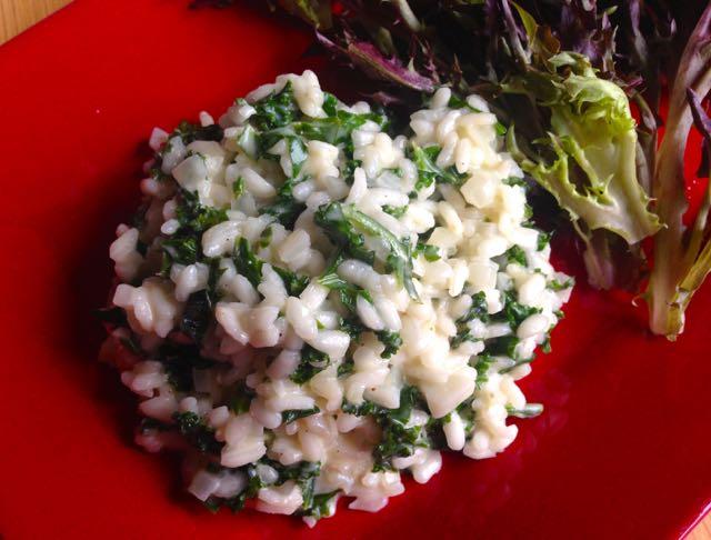 Salaatti nro 90 – Lehtikaalirisotto