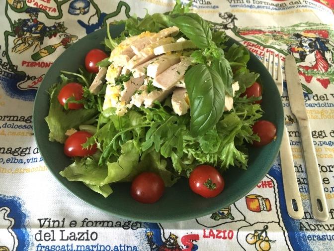 Salaatti nro 69 – sitruunainen kanasalaatti